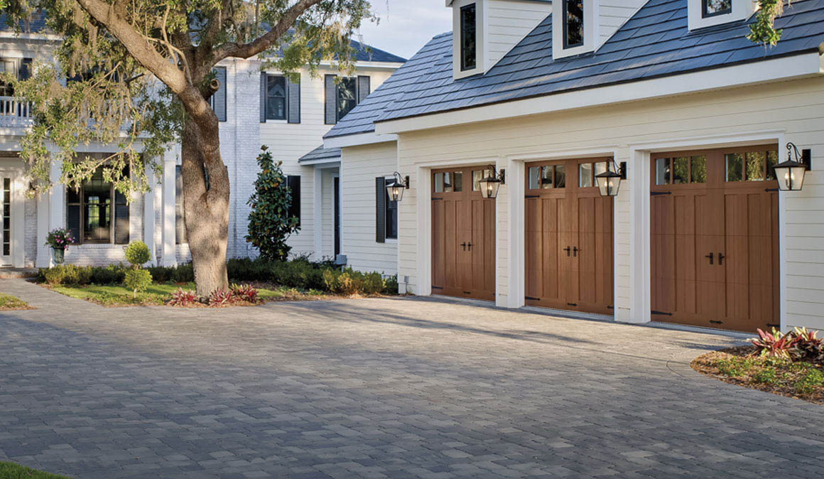 Canyon Ridge Collection Garage Doors