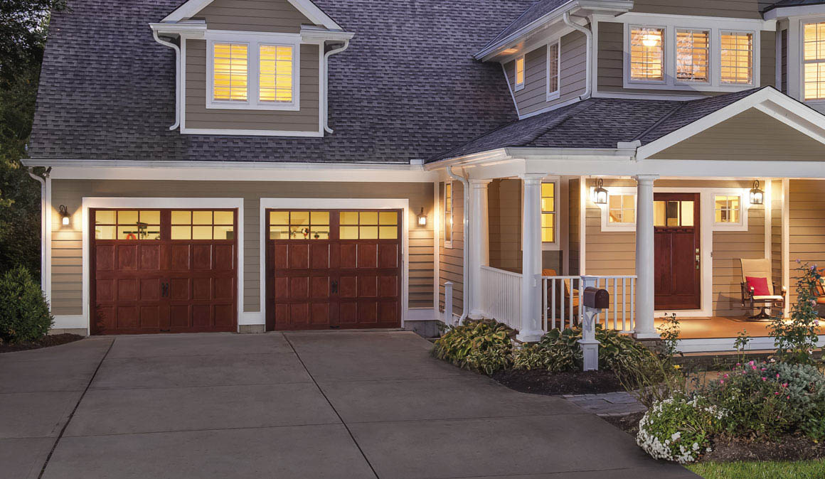 Reserve Wood Collection Garage Doors